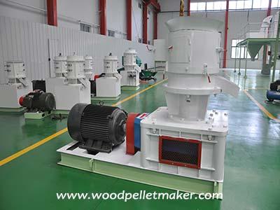 flat die pellet machine factory