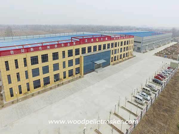 pellet machine factory