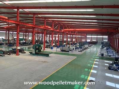 wood pellet mill factory