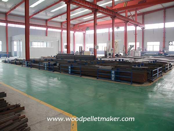 pellet machine steel plate